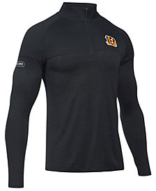 Under Armour Men's Cincinnati Bengals Twist Tech Quarter-Zip Pullover