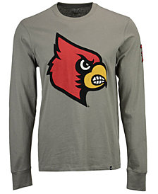 '47 Brand Men's Louisville Cardinals Fieldhouse Long Sleeve T-Shirt