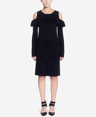 Catherine Catherine Malandrino Brigid Cold-Shoulder Sweater Dress