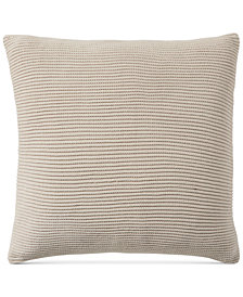 "Hotel Collection Pebble Diamond 20"" x 20"" Decorative Pillow"
