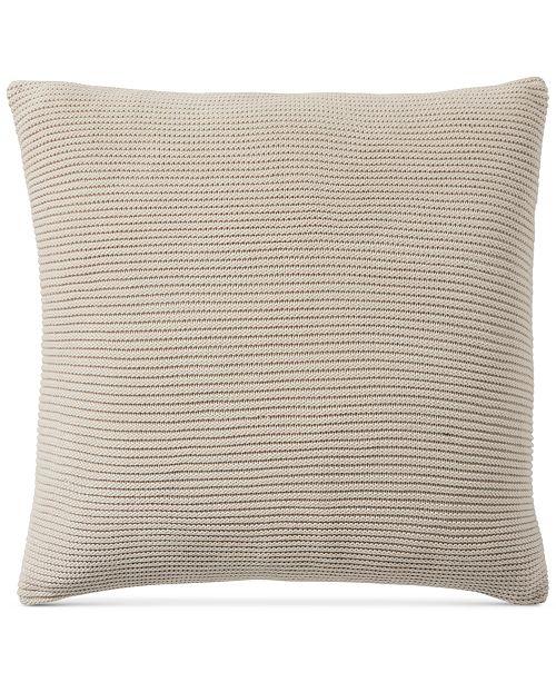 "Hotel Collection Pebble Diamond 20"" x 20"" Decorative Pillow"
