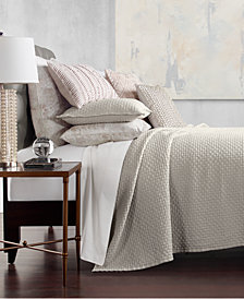 Hotel Collection Speckle Cotton Quilted King Coverlet, Created for Macy's