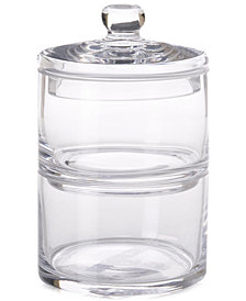 JLA Home Hotel Glass Stacking Jar Glass
