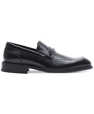 Kenneth Cole Reaction Design 209012 Mens Black Casual Dress Loafers Shoes