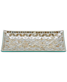 JLA Home Cape Mosaic Tray, Created for Macy's