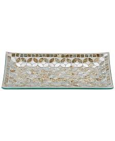 JLA Home Cape Mosaic Tray, Created for Macy's