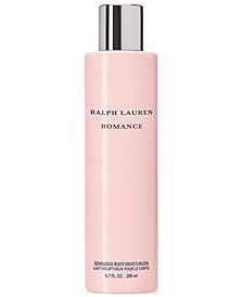Receive a Complimentary Body Lotion with any large spray purchase from the Ralph Lauren Women's Romance fragrance collection, A $43 value!