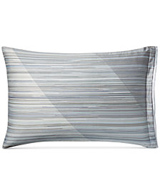 Hotel Collection Diamond Stripe Standard Sham, Created for Macy's