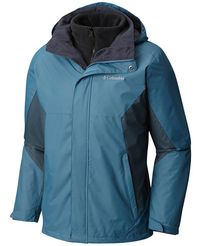 Columbia Men's Eager Air 3-in-1 Omni-Shield Jacket