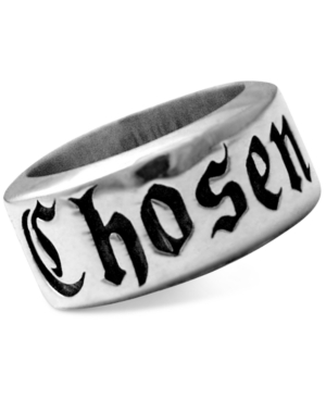 Men's Chosen Ring in Sterling Silver