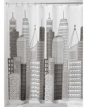 Interdesign Skyline 72 x 72 Shower Curtain Bedding