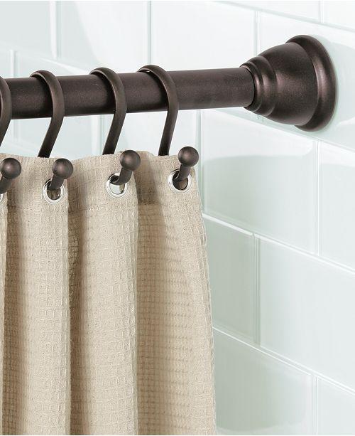 Interdesign Cameo Bronze Shower Curtain Tension Rod