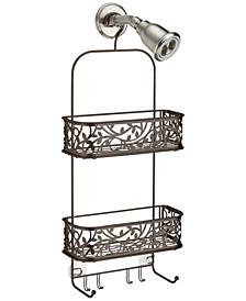 Bronze Vine Shower Caddy