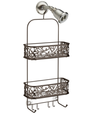 Interdesign Bronze Vine Shower Caddy Bedding
