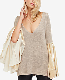 Free People Celestial Bell-Sleeve Sweater