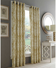 "J Queen New York Roosevelt 50"" x 63"" Grommet Curtain Panel"