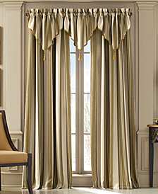 "Queen Street Jasper Stripe 50"" x 63"" Rod Pocket Curtain Panel"