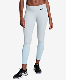 Nike Legendary Dri-FIT Colorblocked Zip-Cuff Leggings
