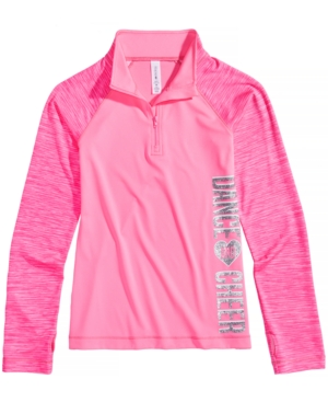 Ideology QuarterZip Dance And Cheer Active Jacket Big Girls (716) Created for Macys