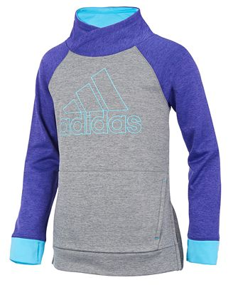 adidas Pull Me Over Sweatshirt, Little Girls