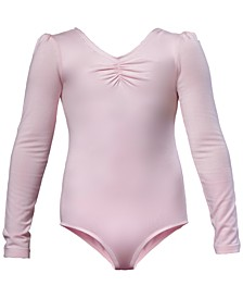 Ruched Leotard, Little Girls & Big Girls