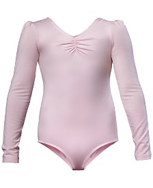 Flo Dancewear Ruched Leotard, Little Girls & Big Girls