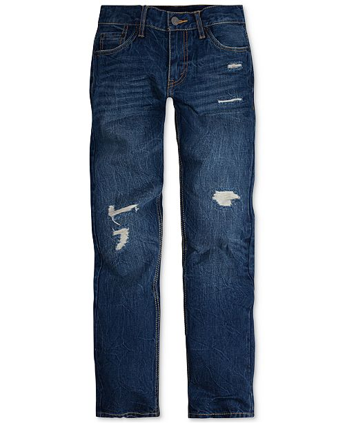 35f033b6f Levi's 502™ Regular Tapered Fit Jeans, Big Boys & Reviews - Jeans ...