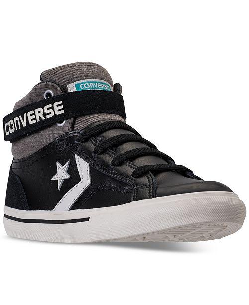 31fba2ae73e6f Converse Boys  Pro Blaze Strap Casual Sneakers from Finish Line ...