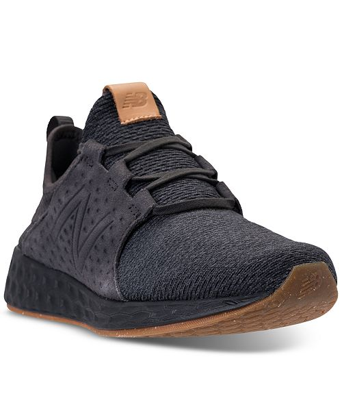 12f91aa74b5e ... New Balance Men s Fresh Foam Cruz Running Sneakers from Finish ...