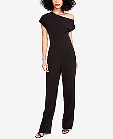 RACHEL Rachel Roy One-Shoulder Jumpsuit, Created for Macy's