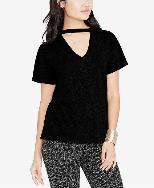 8ce570bf5 RACHEL Rachel Roy Choker T-Shirt, Created for Macy's & Reviews ...