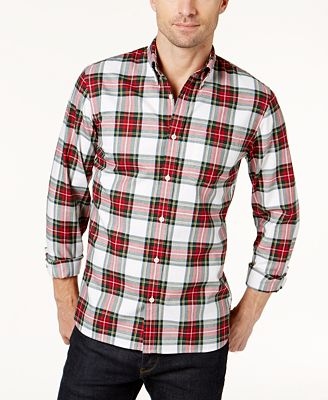Brooks Brothers Red Fleece Men's Tartan Flannel Shirt