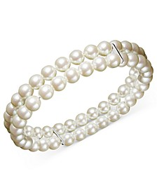 Two Row Simulated Pearl (6 mm)