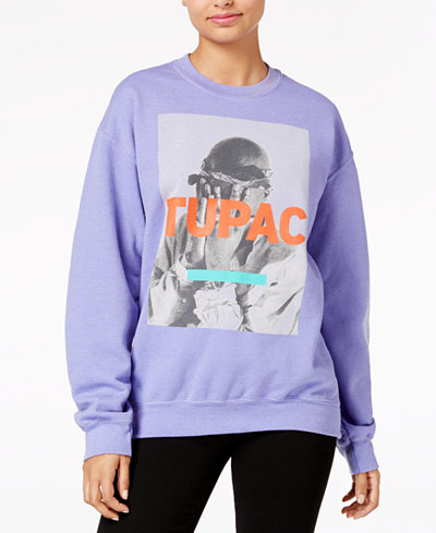 Bravado Juniors' Tupac Graphic Sweatshirt