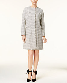 Weekend Max Mara Vicini Tweed Overcoat