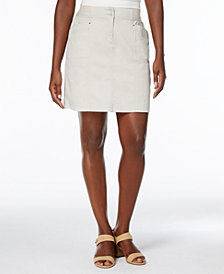 Karen Scott A-Line Skort, Created for Macy's