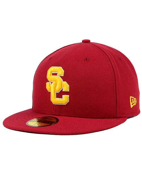 01792026979a5 New Era USC Trojans AC 59FIFTY Fitted Cap   Reviews - Sports Fan ...