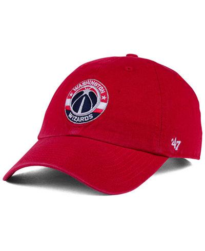 '47 Brand Washington Wizards CLEAN UP Cap