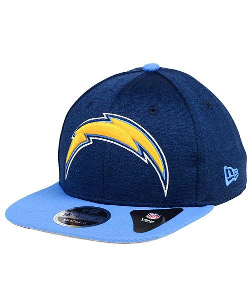 sale retailer 2c0ff 6ed9a ... New Era Los Angeles Chargers Heather Huge 9FIFTY Snapback Cap ...
