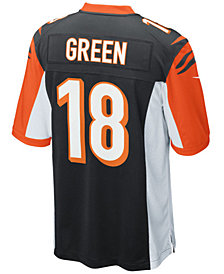 Nike Men's A.J. Green Cincinnati Bengals 50th Anniversary Game Jersey
