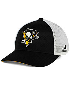 adidas Pittsburgh Penguins Mesh Flex Cap