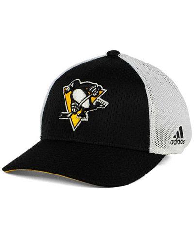 adidas Pittsburgh Penguins Mesh Flex Cap