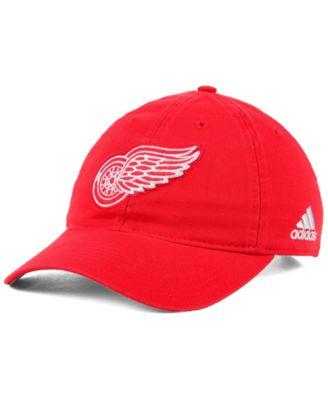 quality design f60d5 dd035 adidas Detroit Red Wings Core Slouch Cap - Sports Fan Shop By Lids - Men -  Macy s