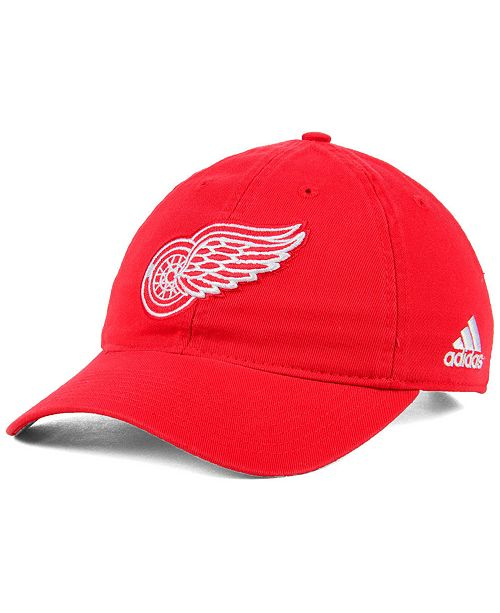 low priced f5aba 036bb ... adidas Detroit Red Wings Core Slouch Cap ...