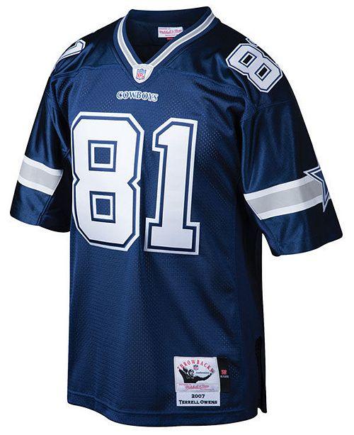 b3aa3254b Mitchell & Ness Men's Terrell Owens Dallas Cowboys Authentic Football Jersey  ...