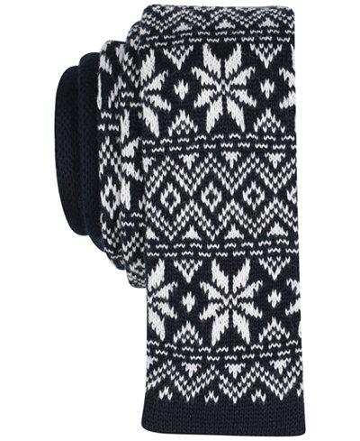Bar III Men's Defrozen Floral Skinny Tie, Created for Macy's