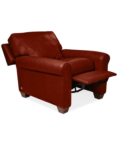 leather chair recliner products james c pottery chairs barn