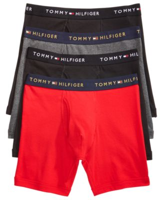 Tommy Hilfiger Men\u0027s 4-Pack. Cotton Boxer Briefs