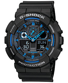 G-Shock Analog-Digital Black Strap Watch 51mm