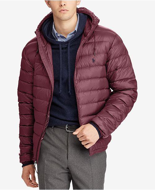 29c63e01d2c0 Polo Ralph Lauren Men s Packable Down Jacket   Reviews - Coats ...